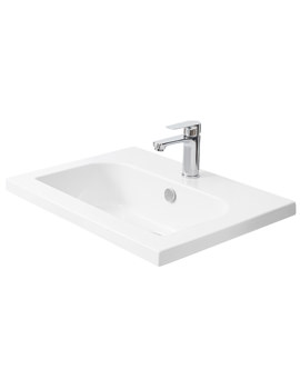 Related Miller 610mm D-Shaped Bowl Ceramic Basin - 120W1
