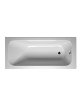 Balance 160 x 70cm White Bath - 55210001000