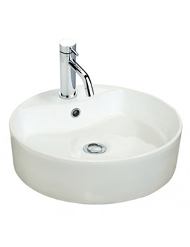 460mm Round Counter Top Ceramic Basin - 171W1