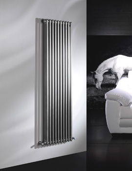 Modus 3 Column 2500mm High White Radiator - 4 To 44 Sections