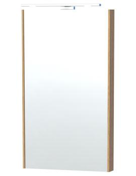 London 40 Oak Framed Mirror - 59-5