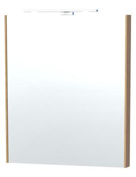 Related Miller London 60 Oak Framed Mirror - 60-5