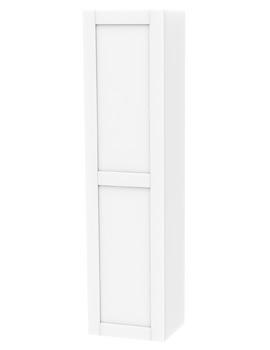 Related Miller London White Single Door Tall Cabinet 400 x 1690mm - 593V-2