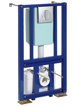 Saniwall WC Frame With Concealed Cistern And Macerator Pump