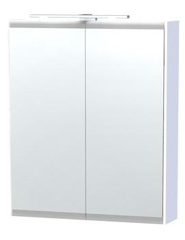 Related Miller London 60 White Double Door Mirror Cabinet 590 x 700mm