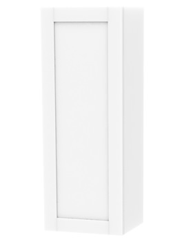 Related Miller London White Single Door Storage Cabinet 400 x 1111mm
