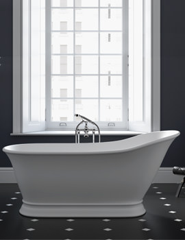 Imperial Windsor Hampton Freestanding Bath 1590 x 785mm - No Tap Hole