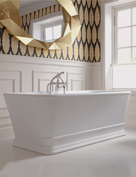 Imperial Windsor KEW Freestanding Bath 1690 x 760mm - No Tap Hole