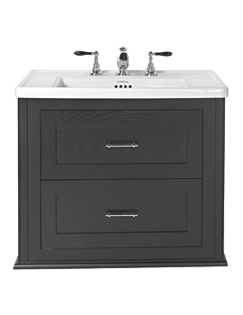 Related Imperial Radcliffe Thurlstone Wall Hung Vanity Unit Wenge