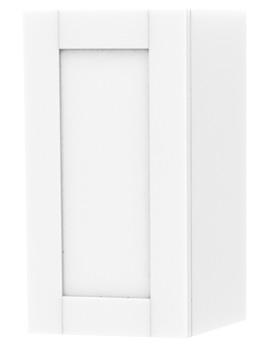 London White Single Door Storage Cabinet 275 x 590mm