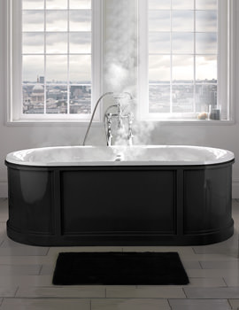King Charles Luxury Freestanding Bath 1775 x 740mm