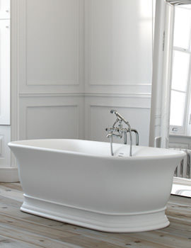 Windsor Marlow Luxury Freestanding Bath 1740 x 760mm - No Tap Hole