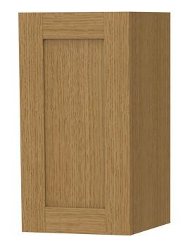 London Oak Single Door Storage Cabinet 275 x 590mm
