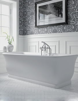 Windsor Mortlake Freestanding Bath 1680 x 750mm - No Tap Hole