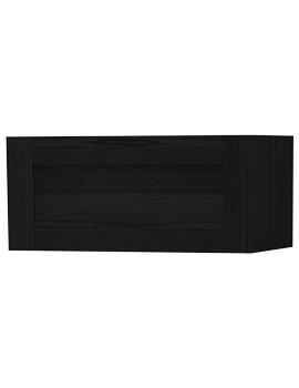 London Black Single Door Storage Cabinet 590 x 275mm