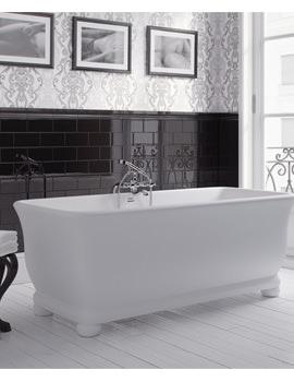 Imperial Windsor Putney Freestanding Bath 1680 x 750mm - No Tap Hole