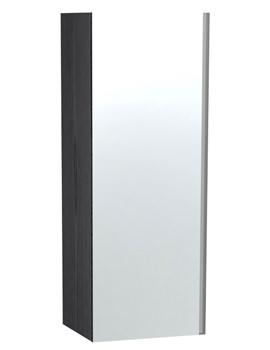 Related Miller London Black Single Door Mirror Cabinet 400 x 1111mm