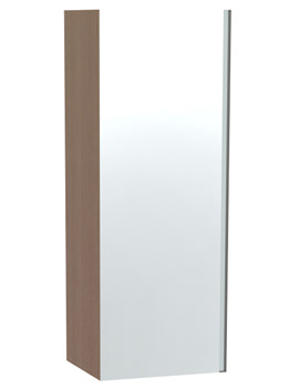 Miller London Oak Single Door Mirror Cabinet 400 x 1111mm
