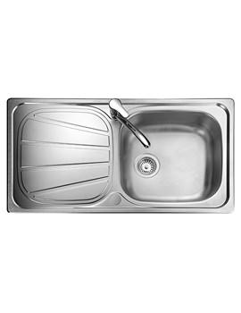 Baltimore Stainless Steel 1.0 Bowl Kitchen Sink
