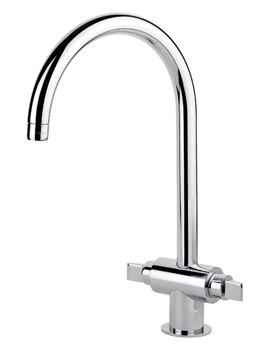 Rangemaster Monoglide Monobloc Kitchen Sink Mixer Tap Chrome