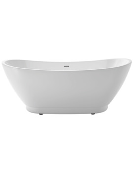 Merrivale Freestanding Double Ended Acrylic Bath 1760 x 680mm