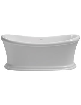Orford Freestanding Double Ended Acrylic Bath 1700 x 740mm