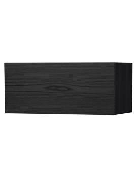 New York Black Single Door Storage Cabinet 590 x 275mm
