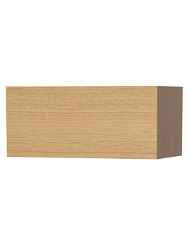New York Oak Single Door Storage Cabinet 590 x 275mm