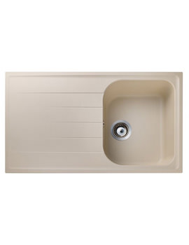 Rangemaster Amethyst 1.0 Bowl Igneous Granite Sink - Stone Finish