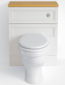 Heritage Classic Oyster 640mm Back-To-Wall WC Unit - KOY43