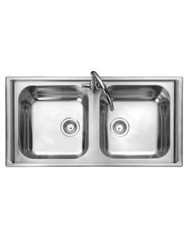Rangemaster Manhattan 2.0 Bowl Stainless Steel Kitchen Sink - MN10105