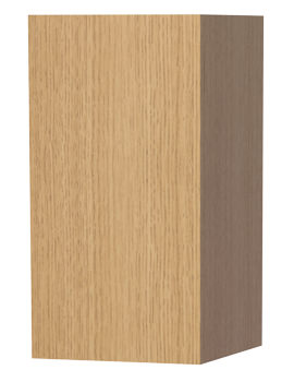 New York Oak Single Door Storage Cabinet 275 x 590mm