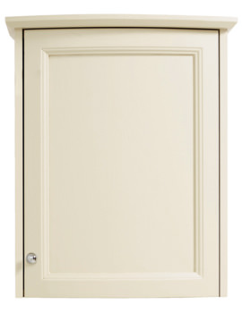 Heritage Classic Oyster Curved Single Door Wall Cabinet - KOY63