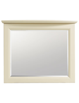Related Heritage Caversham Oyster Curved 600mm Wall Mirror - KOY64