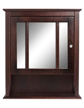 Heritage Hidcote Walnut Wall Cabinet 625 x 750mm - FHW51
