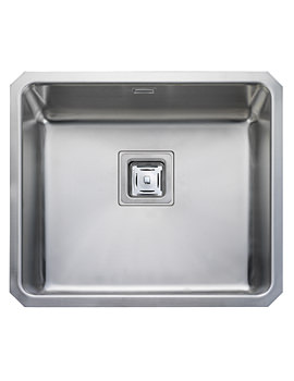 Atlantic Quad Undermount 1 Bowl Stainless Steel Kitchen Sink