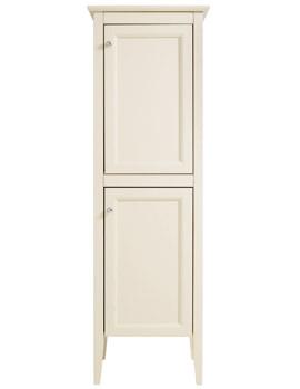 Caversham Oyster Straight 2 Door Tall Boy Unit 500 x 1540mm