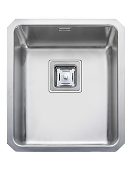 Atlantic Quad QUB34 Stainless Steel Undermount Kitchen Bowl