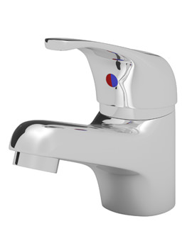 Aeon Chrome Plated Single Lever Mono Basin Mixer Tap With Waste