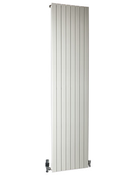 RT 215 x 1500mm Vertical 4 Section Radiator White