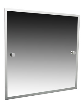 Miller Atlanta 420 x 500mm Bevelled Mirror - 8800C