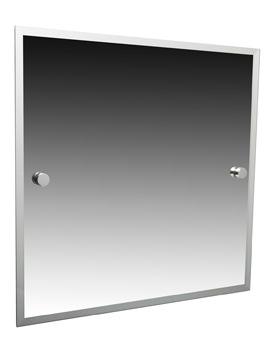 Atlanta 420 x 500mm Bevelled Mirror - 8800C