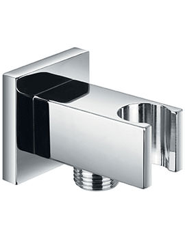 Str8 Wall Shower Outlet Elbow With Handset Holder