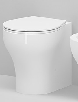 Vera Mini Back-To-Wall Floor Standing WC Pan 480mm Projection