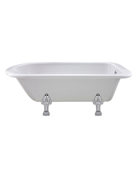 Old London Barnsbury 1700mm Freestanding Bath With Pride Legs - LDB1707C2