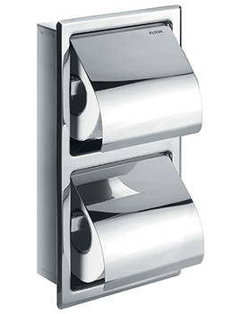 Gloria Double Concealed Toilet Roll Holder - GL8965A