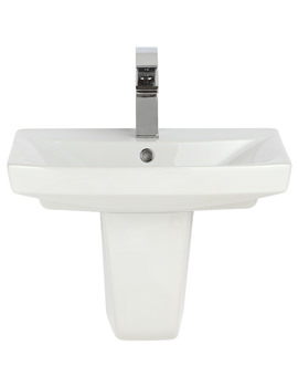 Related Balterley Nectar 500mm 1 Tap Hole Basin And Semi Pedestal