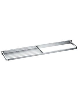 Sofija Towel Rail With Glass Shelf - SO8916