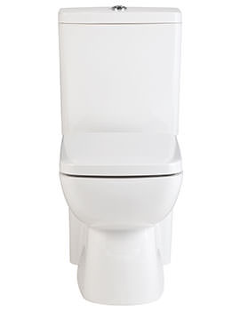 Brace Flush To Wall Close Coupled WC With Cistern And Seat 640mm