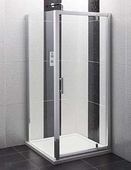 Balterley Framed Pivot Door for Enclosure - 700mm - BYSEFPD70